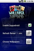 Screenshot of Wallpaper Zappodroid