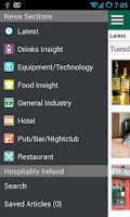 Screenshot of Hospitality Ireland