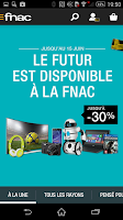 Screenshot of Fnac
