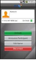Screenshot of BT MeetMe Mobile Controller