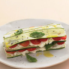 Zucchini Lasagna with Farmer Cheese