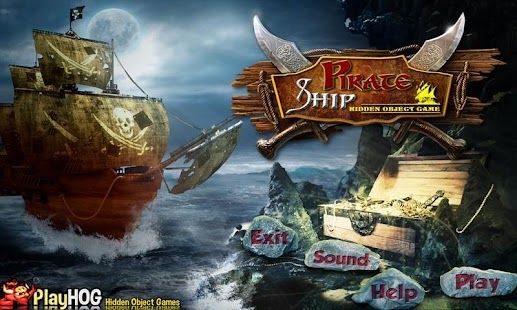Pirate Ship Free Hidden Object - screenshot