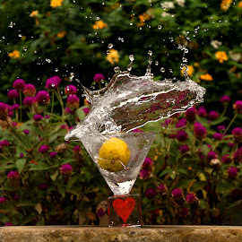 Oblique Splash by Idda Purwaningtiyas - Food & Drink Alcohol & Drinks