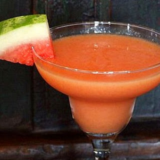 Watermelon- Mango Margaritas