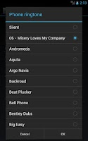 Screenshot of Ringtone Slicer & Maker Beta