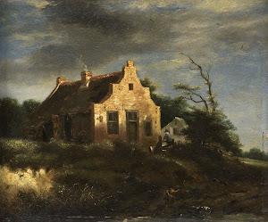 RIJKS: school of Jacob Isaacksz. van Ruisdael: painting 1750