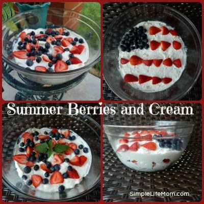 Summer Berries and Cream