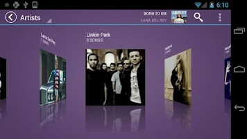 Screenshot of Fusion Music Player