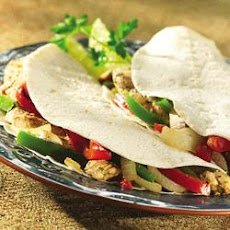 Citrus Chicken and Pepper Fajitas