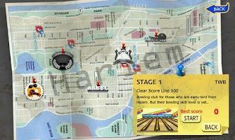 Screenshot of Real 3D Bowling (HarlemStrike)