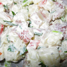Roasted Red (New) Potato Salad