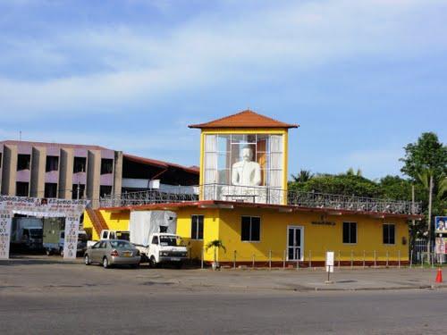 Kirulapone Police Station Buddha Statue