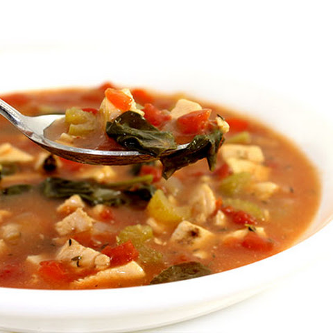 Low Calorie Chicken Creole Soup