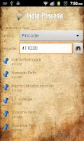 Screenshot of India Pincode