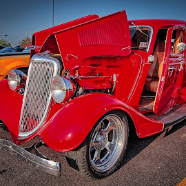 Tobacco Wagon by Ron Meyers - Transportation Automobiles