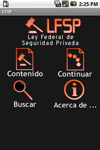 LFSP – Ley Federal de Segurida