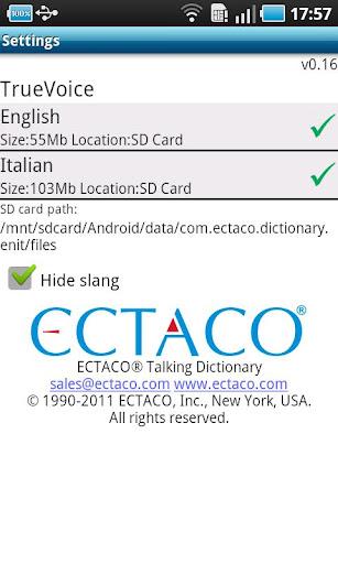 English - Italian Suite