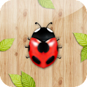 Touch◑Catch the ladybug! icon