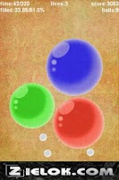 Screenshot of zBalls - bounce ball