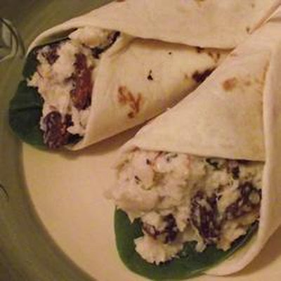 Turkey and Grape Wraps