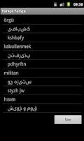 Screenshot of Turkish Persian Dictionary