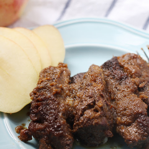 Slow Cooker Boneless Apple Short Ribs