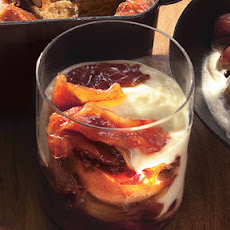 Caramelized Winter Fruit Custards