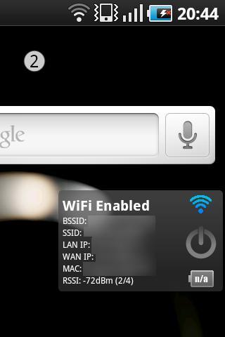 WM3500R Widget