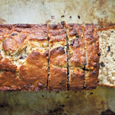 Chocolate Bourbon-Spiked Banana Bread