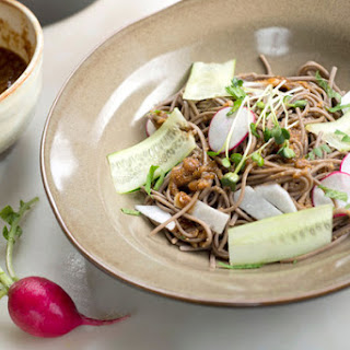 Buckwheat Noodles With Ginger and Miso