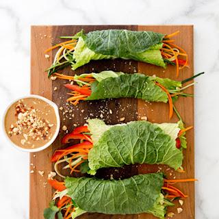 Napa Cabbage Wraps Recipes
