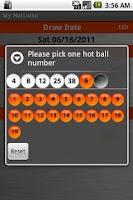 Screenshot of HotLotto