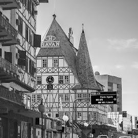 Blumenau Landmark by Waseem Sheikh - Buildings & Architecture Architectural Detail ( joyful day, santa catarina, driving, architecture, road, travel, blumenau, landmark, brazil, traffic, buildings, shopping, tour )