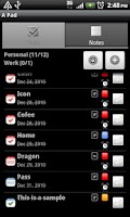 Screenshot of A Pad