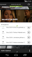 Screenshot of MTV Katsomo
