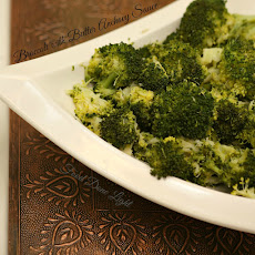 Broccoli with Garlic Anchovy Butter