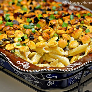 Clam Chowder Cheesy Pasta Bake