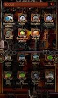 Screenshot of Steampunk Go Launcher Ex Theme