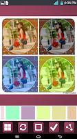 Screenshot of Fotos color