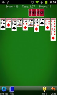 Screenshots  Spider Solitaire