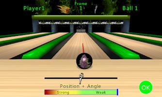 Screenshot of Smokin' Ball Bowling Free