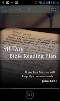 Screenshot of Bible Reading Plan - 90 Day