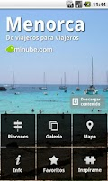 Screenshot of Guide of Menorca - minube