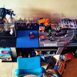 Small Lego MOC corner for my son..Life start here.. by Tantan Wijaya - Artistic Objects Toys ( lego, legomoccorner )