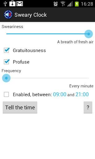 Sweary Clock Pro