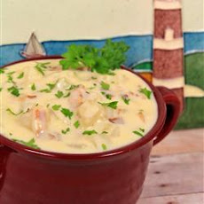 Potato Soup in Seven Minutes