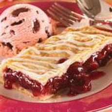 Cherry Vanilla Slab Pie