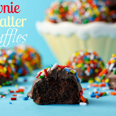Brownie Batter Truffles