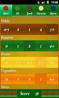 Screenshot of Agricola Score Calculator