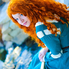 brave by David Lackey - People Musicians & Entertainers ( brave, cosplay, comic con )